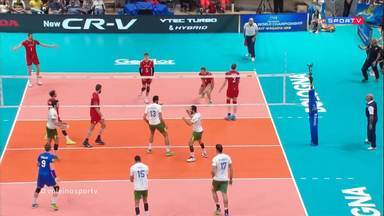 Mundial Masculino de Vôlei - Bélgica x Brasil