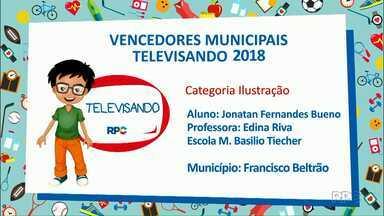 Veja quem venceu o Televisando em Francisco Beltrão - Amanhã mais nomes serão divulgados no Meio-Dia Paraná.