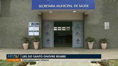 Unidades de saúde de Cascavel são reabertas - Nesta quarta-feira a UBS do Santo Onofre voltou a atender aos pacientes da região.