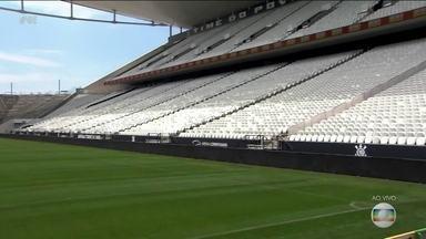 Arena Corinthians aguarda grande público para semifinal da Copa do Brasil - Arena Corinthians aguarda grande público para semifinal da Copa do Brasil