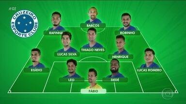 Confira as prováveis escalações de Cruzeiro e Palmeiras para semifinal da Copa do Brasil - Confira as prováveis escalações de Cruzeiro e Palmeiras para semifinal da Copa do Brasil