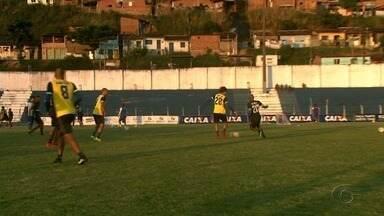 CSA foca nos treinos para clássico no Rei Pelé - Azulão já garantiu permanencia na Série B.