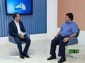 Candidatos ao cargo de reitor da Unimontes participam de entrevista na Inter TV - Advogado Dalton Caldeira Rocha é candidato a reitor pela primeira vez.