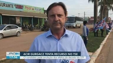 Acir Gurgaz tenta recurso no STF - O candidato pede anulação dos efeitos da decisão.