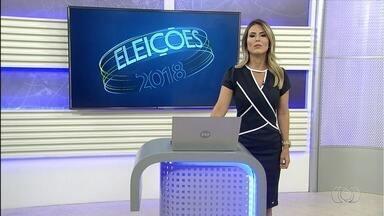 Veja como foi o dia dos candidatos ao governo de Goiás - Eles cumpriram compromissos políticos.