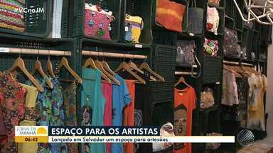 Pelô design: espaço para valorizar artistas é inaugurado em Salvador - Conheça o espaço que foi inaugurado na quinta-feira (27) e vai servir de vitrine para artesãos.