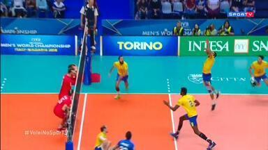 Mundial Masculino de Vôlei - Brasil x Rússia