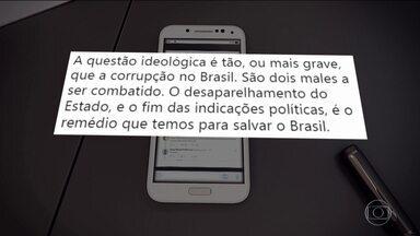 Candidato do PSL, Jair Bolsonaro, passa o dia no Rio de Janeiro - Jornal Nacional mostra como foram as atividades de campanha de candidatos à presidência nesta terça-feira (2).