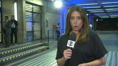 Candidatos ao governo do Rio chegam para o debate da TV Globo - Candidatos ao governo do Rio chegam para o debate da TV Globo.