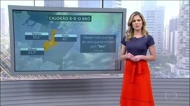 Esta quarta (3) será de calor em boa parte do país e chove em quase todas as regiões - Em Santa Catarina, Paraná. sul de Mato Grosso do Sul e de São Paulo tem risco de temporal. No Centro-Oeste, no Norte e em boa parte do Sudeste a chuva vai ser localizada e pode chegar a partir da tarde.