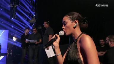 #DiárioDaTaísEp03: O segundo dia de gravação! - Taís Araujo nos mostra os bastidores do segundo dia de gravação do Popstar