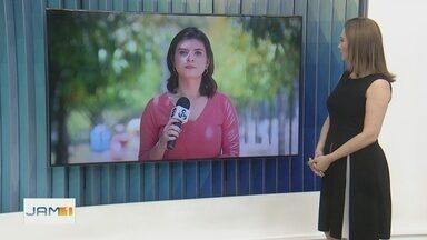 Mulher é agredida por marido com tijolo em Manaus - Vítima também foi empurrada de um barranco.