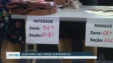 Urnas eletrônicas que serão auditadas nas eleições são sorteadas no AM - Sorteio escolheu seções dos municípios de Iranduba, na Região Metropolitana, e da capital Manaus.