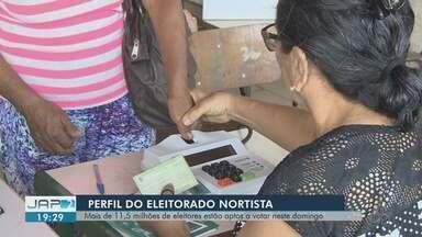 Mais de 11 milhões de eleitores estão aptos a votar no Norte do Brasileiro - Mais de 76% são por meio da biometria, o que representa 8,6 milhões eleitores. O perfil do eleitorado nortista 35,83 tem idade entre 25 e 39 anos.