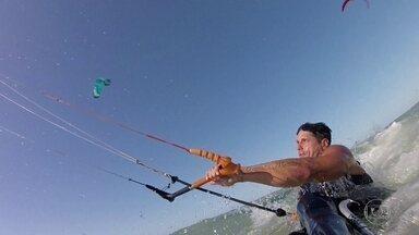 Sobre Rodas: Fernando Fernandes é o primeiro brasileiro a praticar o kitesurfe adaptado - Sobre Rodas: Fernando Fernandes é o primeiro brasileiro a praticar o kitesurfe adaptado