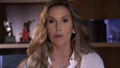 Mariana Ferrão explica lesão que a tirou do rock do 'Dança' - Apresentadora volta para a repescagem do quadro do 'Domingão'
