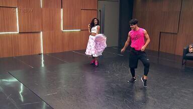 Confira o ensaio de Erika Januza para o rock do 'Dança dos Famosos' - Assista!