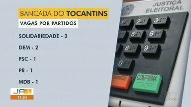 Confira como ficou a bancada dos políticos do Tocantins na Câmara dos Deputados - Confira como ficou a bancada dos políticos do Tocantins na Câmara dos Deputados