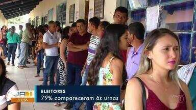 Cerca de 74% dos eleitores votaram a favor para o novo nome do município Tabocão - Cerca de 74% dos eleitores votaram a favor para o novo nome do município Tabocão
