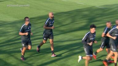 Com dúvida das atuações de Moledo e Damião, Inter se prepara para enfrentar o São Paulo - O jogo acontece neste domingo (14), às 16h.