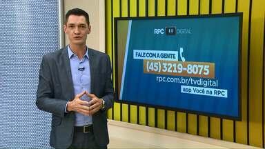 Redação Móvel da TV Digital vai estar na Festa da Padroeira em Cascavel - Tire suas dúvidas sobre o desligamento do sinal analógico nesta sexta-feira (12), das 11h30 às 15h30.