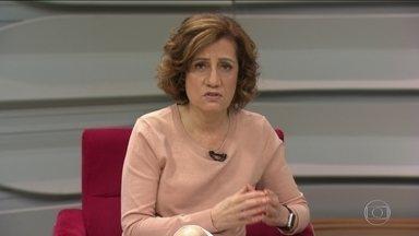 Miriam Leitão explica o que acontece no Congresso com a cláusula de barreira - Segundo Miriam Leitão, a primeira coisa que aconteceu nessas eleições foi o aumento do número de partidos com representação. O Brasil já tentou reduzir partidos através da cláusula de barreira em 2006, e agora retoma a medida.