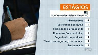 Confira as vagas de estágio em Maringá e região - CIEE oferece 19 vagas para alunos de direito