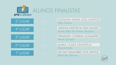 """Conheça os 10 finalistas do projeto """"EPTV na Escola"""" - Eles fizeram as melhores redações selecionadas pelo projeto."""