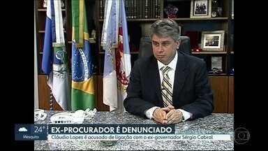Ex-procurador geral de Justiça, Cláudio Lopes é denunciado por corrupção - Ele é acusado de ligação com a quadrilha chefiada pelo ex-governador Sérgio Cabral