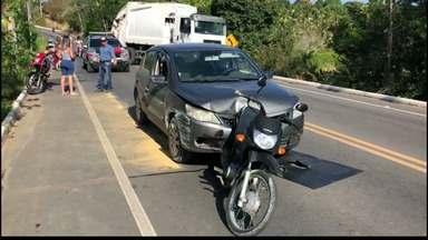JPB2JP: Mulher fica ferida em acidente no Conde - Ela foi atropelada.
