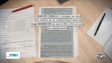 Marconi Perillo é preso pela PF em operação que apura pagamento de propina em Goiás - Ele prestava depoimento quando teve prisão decretada. Segundo advogado dele, o político recebeu o mandado quando estava iniciando o seu depoimento.