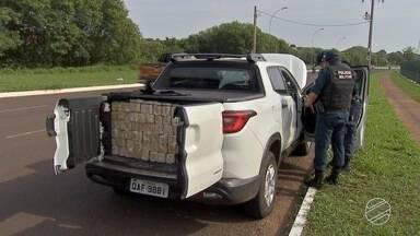 Traficante em fuga causa acidente e deixa motociclista ferido - Acidente foi na região do Aero Rancho, em Campo Grande.