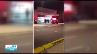 Clientes de uma loja de departamento são feitos refém em Belém - Após 1h de negociação, os bandidos se entregaram e os refém foram libertados
