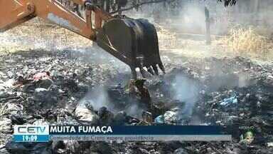 Moradores de comunidade no Crato reclamam de fumaça há uma semana - Veja mais notícias em g1.com.br/ce