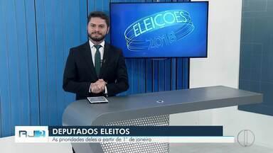 Deputados eleitos no interior do Rio gravam vídeos para falar de projetos - Assista a seguir.