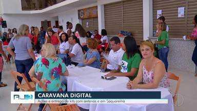 Caravana digital da Inter TV visita Silva Jardim, no RJ - Assista a seguir.