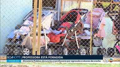 Professora de Astorga é considerada foragida - Ela teria agredido uma criança de uma creche municipal.