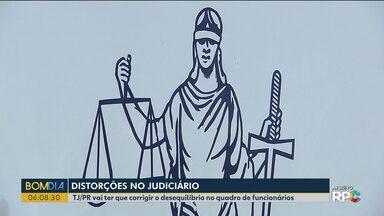 Tribunal de Justiça vai ter que corrigir o quadro de funcionários - A liminar é do Conselho Nacional de Justiça.