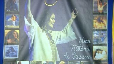 Cantora Joanna faz show beneficente em Aracaju - Show foi em prol do Externato São Francisco de Assis.
