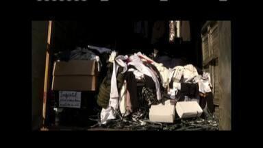 Polícia Civil investiga roubo de cargas no Leste de Minas - Operação Cifra Negra apreendeu R$2 milhões em mercadorias roubadas e que eram comercializadas ilegalmente; PC cumpriu seis mandados de busca e apreensão.