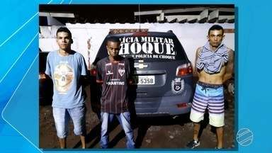 Três são presos por assaltos a motoristas de aplicativos de MS - Diversos motoristas têm sido alvos de assaltantes nos últimos dias em Campo Grande.