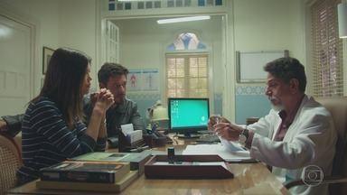 Capítulo de 11/10/2018 - Alain diz a Bola que desistirá de fazer seu filme se Cris deixar Rosa Branca. Isabel se aproxima de Américo. Dalton confirma que a saúde de Cris está em perfeito estado. Cris decide permanecer em Rosa Branca e interpretar Julia.