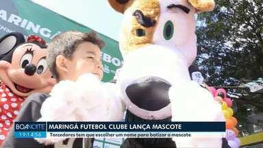 Mascote do Maringá Futebol Clube - Torcedores vão escolher o nome