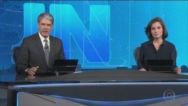 Jornal Nacional, Íntegra 15/10/2018 - As principais notícias do Brasil e do mundo, com apresentação de William Bonner e Renata Vasconcellos.