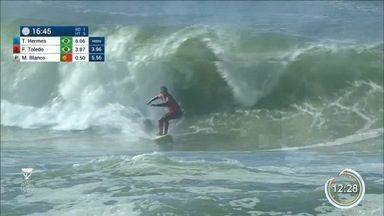 Etapa do Mundial de Surfe em Portugal começou - Medina é o novo líder do ranking.
