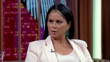 Ivani Serebenic explica o motivo de ter saído do anonimato para denunciar Abdelmassih - Bial mostra uma reportagem jornalística sobre o caso