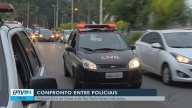 Nove envolvidos em tiroteio entre policiais civis de MG e SP são indiciados - Nove envolvidos em tiroteio entre policiais civis de MG e SP são indiciados
