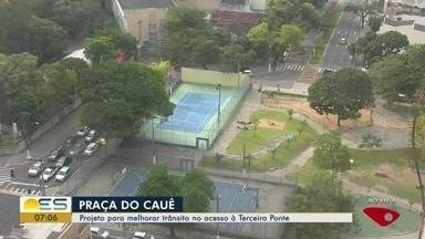 Projeto para melhorar trânsito no acesso à 3ª ponte pode não ter efeito, no ES - Secretário de Transportes e Trânsito de Vitória, Luiz Paulo de Figueiredo, disse que a discussão será retomada.