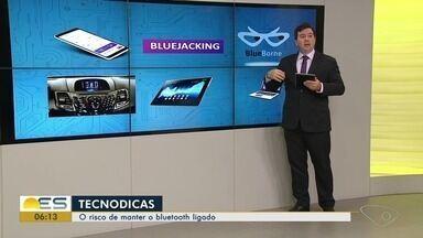Tecnodicas: consultor de tecnologia do ES alerta para risco de manter bluetooh ligado - Gilberto Sudré explica que um dos riscos é ter dispositivos invadidos por vírus.