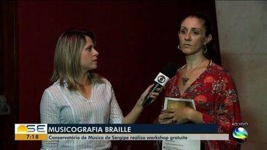 Conservatório de Música de Sergipe realiza workshop gratuito - A repórter Michele Costa tem mais informações.